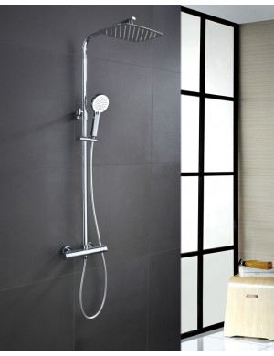Barre de douche thermostatique serie praga