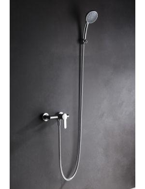 Grifo de ducha latón cromado serie roma