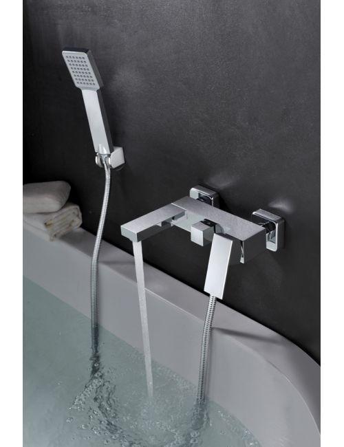 Grifería de bañera / ducha monomando cromado serie valencia
